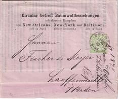NORDDEUTSCHER BUND   1870 LETTRE DE BREMEN - Norddeutscher Postbezirk