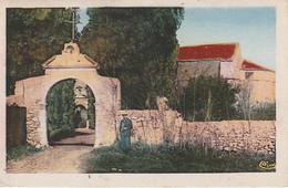 XU 1-(13) BERRE L' ETANG - CHAPELLE DE NOTRE DAME DE CADEROT - CARTE COLORISEE - 2 SCANS - Otros Municipios
