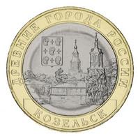Russia 10 Rubles 2020 Bimetal UNC MMD Ancient Cities Of Russia - Kozelsk - Russland
