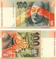 Slovakia 100 Crones 2004 UNC (P44) - Slovacchia