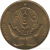 Slovenia 5 Tolars 1995 FAO VF (KM # 21) - Slowenien