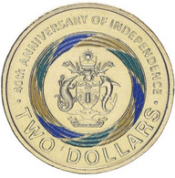 Solomon Islands 2 Dollars 2018 40 Years Of Independence UNC - Solomon Islands