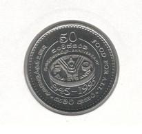 Sri Lanka 5 Rupees 1995 50 Years Of E FAO Fod For All UNC (KM # 155) - Sri Lanka