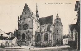 XU 26-(28) NOGENT LE ROI - L' EGLISE - 2 SCANS - Nogent Le Roi