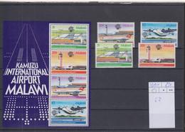 Malawi Michel Cat.No. Mnh/** 401/404 + Sheet 62 - Malawi (1964-...)