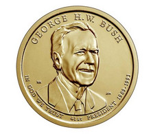 "US $ 1 2020 D ""41st President George W. Bush Sr."" UNC - 2007-…: Presidents"