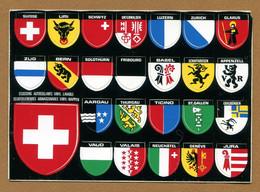 SUISSE : ECUSSON BLASON ADHESIF  (CPM) - Stickers