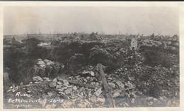 Photo Septembre 1918 BETHINCOURT (près Montfaucon-d'Argonne) - Les Ruines Du Village (A232, Ww1, Wk 1) - Altri Comuni