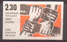 Lutte Contre Le Racisme De 1982 YT 2204 Sans Trace De Charnière - Ongetand