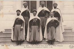 Z+ 19-(69) LYON - EXPOSITION COLONIALE 1914 - SPAHIS DE LA GARDE D' HONNEUR DU PAVILLON DE LA CONQUETE DE L' ALGERIE - Other