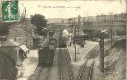 10871 CPA Pacy Sur Eure -  La Gare - Pacy-sur-Eure