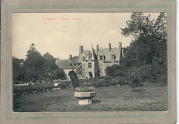 CPA - (50) GENÊTS - Aspect Du Château De Brion En 1910 - Other Municipalities