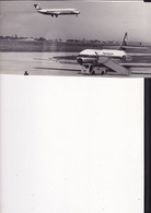 S298  --  ORIGINAL PHOTO  --  AVION  --  SWISSAIR, KLM --  24  Cm X 10,5 Cm - Aviation