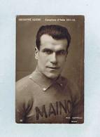 CPA Cyclisme Fot. CAPPELLI, Giuseppe AZZINI  Campione D'Italia 1911-1912, N° 38. Édition A. TRALDI. - Ciclismo