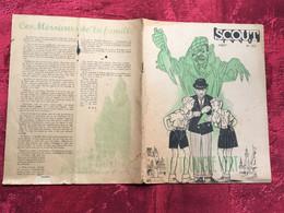 REVUE  SCOUT & GUIDES DE FRANCE-Août N°212-Scoutisme-PHOTOS-Textes -jeux-PUBS ÉPOQUE--JAMBORÉE - Scoutisme