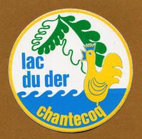 LAC DU DER CHANTECOQ (52) - Stickers