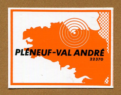 PLENEUF-VAL ANDRE (22) - Stickers