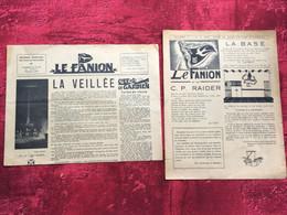 REVUE Le Fanion SCOUT & GUIDES DE FRANCE-1950 N°255-& 10-Scoutisme-PHOTOS-Textes -jeux-PUBS ÉPOQUE--JAMBORÉE - Scoutisme
