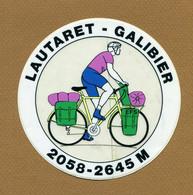"LAUTARET - GALIBIER : "" CYCLISME "" - Stickers"