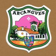 ARCANGUES (64) : ECUSSON BLASON ADHESIF - Stickers