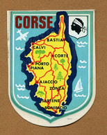CORSE (20) : ECUSSON BLASON ADHESIF - Stickers