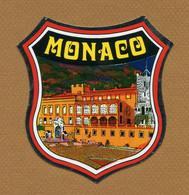 MONACO  : ECUSSON BLASON ADHESIF - Stickers