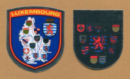 LUXEMBOURG  : ECUSSON BLASON ADHESIF - Stickers