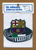 F.C. BARCELONE  : ECUSSON BLASON ADHESIF - Stickers