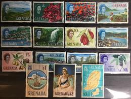 Grenada 1966 Definitives Set Trees Fruit Flowers MNH - Grenada (...-1974)
