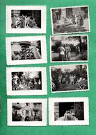 59 Nord Rosendaele Dunkerque Lot De 17 Petites  Photos (format  6cm X 9cm ) Prises En Juin 1946 Voir 4 Scans - Lugares