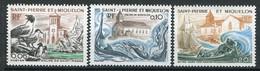 22356 St. Pierre Et Miquelon  N°438/40** Eglises De St Pierre, De Miquelon Et Notre-Dame Des Marins  1974  TB - Ongebruikt