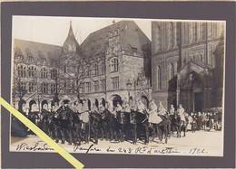 Allemagne / Wiesbaden / Carte Photo 1921  / Fanfare Du 243 Rt D'artillerie - Non Classés