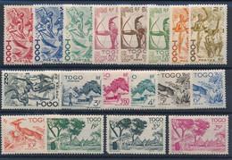 EC-760: TOGO: Lot Avec N°236/253**/* (253 Gomme 2ème Choix) - Nuevos