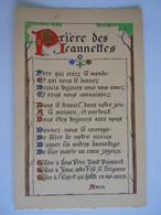 Enluminures - Prière Des Jeannettes Père Qui Créez Le Mone Et Qui Nous Le Donnez Depuis Toujours Vous Nous Aimez.. - Autres