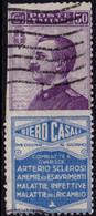 ✔️ Italie 1924 - Pub Siero Casali  - Sass.15 (o) - €75 - 2nd Choice - Publicity