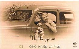 37  UN BONJOUR    DE    CINQ  MARS  LA PILE    CPM  TBE   622 - Altri Comuni