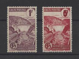 FRANCE. YT   Colis Postaux N° 216A/217A   Neuf **   1944 - Neufs