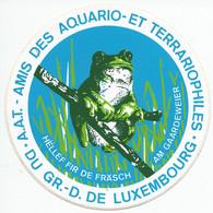 STS248 - STICKER ADESIVO ACQUARIO E TERRARIO LUSSEMBURGO - Stickers