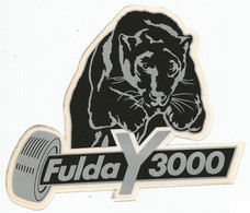 STS293 - STICKER ADESIVO FULDA Y 3000 (Germania) - Stickers