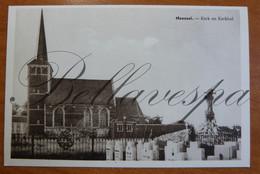 Meensel. Kerk En Kerkhof, Tielt-Winge - Tielt-Winge