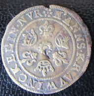 Jeton De Nuremberg Par Krauwinckel Au Globe Crucigère - Contremarqué P - Diam. 22mm, Poids : 1,43g - Royaux/De Noblesse