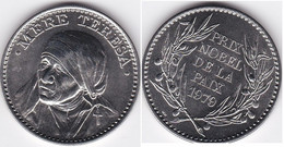 Medaille Mère Térésa , Prix Nobel De La Paix 1979 , FDC - Autres