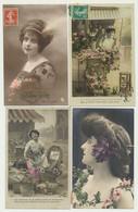 Lot De 36 Cartes - Fantaisie - Femmes - 5 - 99 Postkaarten