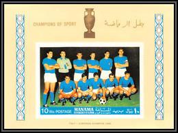 Manama - 5032/ N°A 10 B Italy European Champion 1970 Italia Football Team Soccer Neuf ** MNH Non Dentelé Imperf - Manama