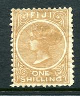 Fiji 1881-99 QV - P.11 - 1/- Deep Brown HHM (SG 66) - Fiji (...-1970)