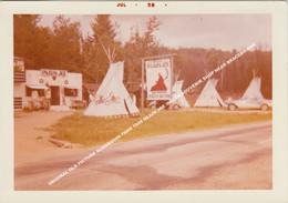ORIGINAL OLD PICTURE ALGONQUIN PARK 1958 INJUN JOE INDIAN SOUVENIR SHOP NEAR BRACEBRIDGE / ONTARIO CANADA - Andere