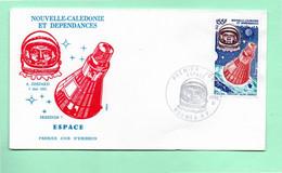 Timbre Oblitére De Nouvelle-Calédonie  1981  Poste Aérienne Premier Jour - Usados