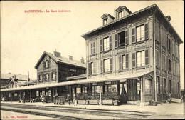 CPA Maubeuge Nord, La Gare Intérieure, Bahnhof, Gleisseite - Other Municipalities