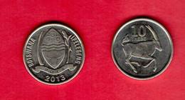 BOTSWANA, 2013 , 10 Thebe, Oryx, KM5, C3740 - Botswana