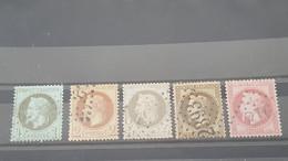 LOT553068 TIMBRE DE FRANCE OBLITERE - 1863-1870 Napoléon III. Laure